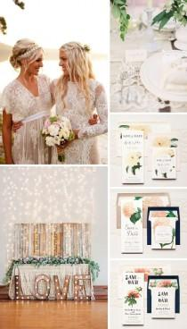 wedding photo - Classic Floral Wedding Theme