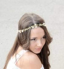 Bridal Hair Crystal Freshwater Pearls Tiara 9ad9f8c710d0