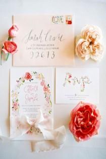 wedding photo - Watercolor Wedding