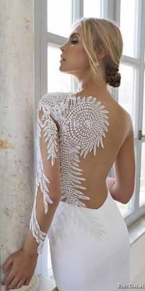 wedding photo - 30 Breath-Taking Low Back Wedding Dresses