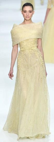 wedding photo - Elie Saab - Haute Couture Spring Summer 2012 - Shows - Vogue.it