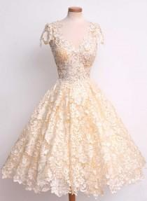 wedding photo - Sweet As A Song Lace Dress