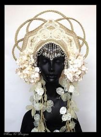 wedding photo - MADE TO ORDER Empress Headdress