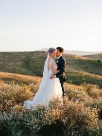 wedding photo - Romantic, Relaxed Backyard Wedding: Heidi + Joshua