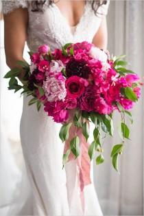wedding photo - Glam Shades Of Pink Wedding