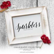 wedding photo -  Calligraphy Wedding Sing Collection