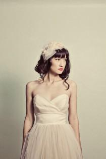 wedding photo - Glitter Gold Sweetheart Strapless Tulle Dress -  Hollywood Heather by Cleo and Clementine