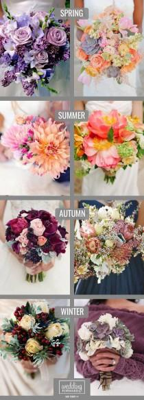 wedding photo - 30 Gorgeous Summer Wedding Bouquets