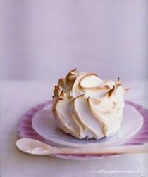 wedding photo - Meringue-encased-lemon-cakes - Once Wed