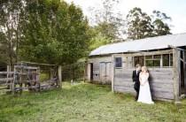 wedding photo - Simple Central Coast Wedding With Rustic Romance Theme - Weddingomania