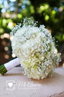 wedding photo - Beautiful Hydrangea Bouquets
