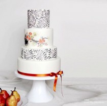 wedding photo - Modern Wedding Cake Stands By Sarah's Stands