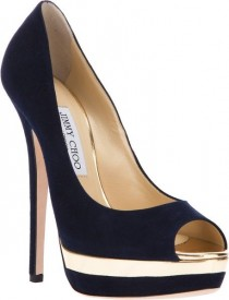 wedding photo - Jimmy Choo Blue Treacle Pump