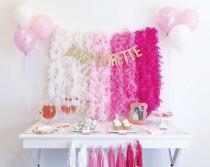 wedding photo - Ombre Bachelorette Party Ideas