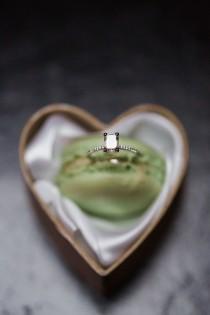 wedding photo - Intimate, Stylish Wedding Ring