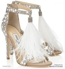 wedding photo - Jimmy Choo 2016 Bridal Shoes Collection