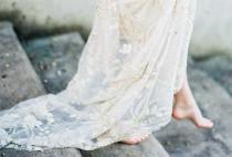 wedding photo - Organic Soft Blue Parisian Wedding Inspiration