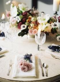wedding photo - Mauve And Slate Wedding Ideas