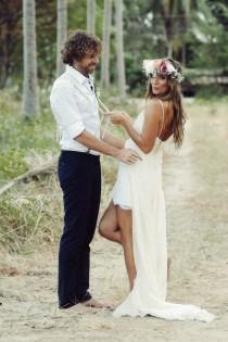 wedding photo - Real Wedding - Boho Bliss Thailand