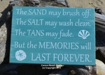 wedding photo - Beach Gift Ideas Beach Weddings Carova Beach Crafts The Sand May Brush Off Beach Signs, Beach Decor, Nautical Sign, The Tans May Fade Summer Quotes