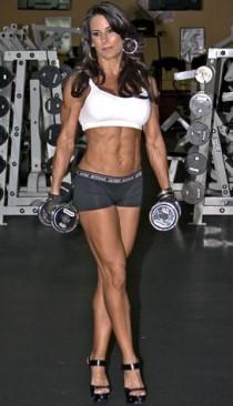 wedding photo - Female Fitness, Figure And Bodybuilder Competitors: March 2011