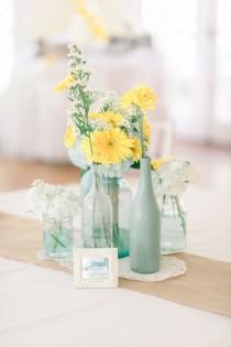 wedding photo - Mint And Yellow Wedding Inspiration