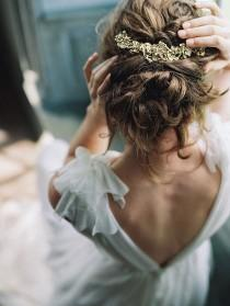 wedding photo - Beautiful Headpiece