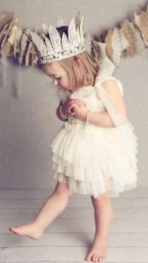 wedding photo - Pretty Crown for Flower Girls