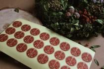 wedding photo - 72 Double Happiness Stickers, Chinese Wedding Sticker, Brown Kraft paper Sticker