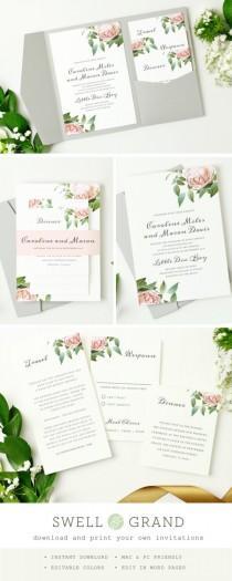 Wedding ideas invitation 167 weddbook instant download stopboris Images