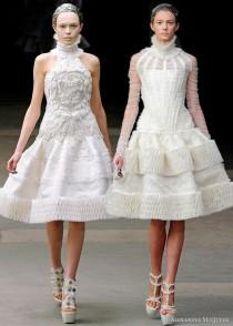 wedding photo - Alexander McQueen Fall/Winter 2011 Collection