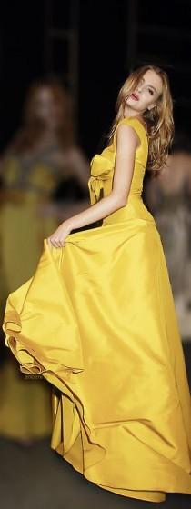 wedding photo - Yellow Haute Couture