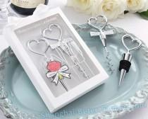 wedding photo - Bride and groom wine tool set Wedding Favors BETER-WJ004