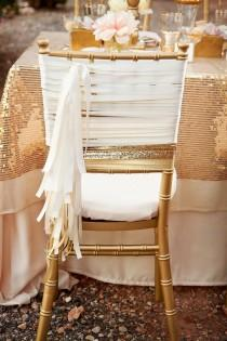 wedding photo - Sparkly Wedding Decor