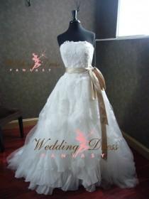 wedding photo - Custom Made Wedding Dresses