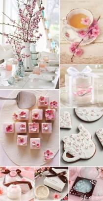 wedding photo - Shower Her With Cherry Blossoms