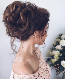 wedding photo - Wedding Updo Hairstyle Idea 9 Via Ulyana Aster