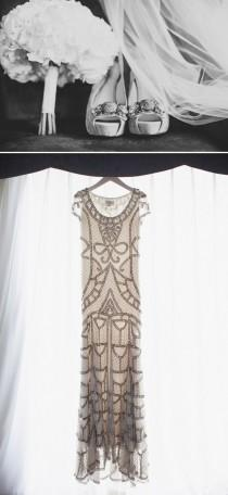 wedding photo - Community Post: 25 Dazzling Art Deco Wedding Gowns