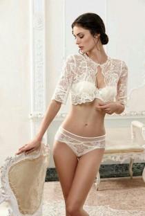 b46513e37d5d0 Pretty Sexy Lingerie. Weddbook ♥ Beautiful bridal lingerie in white ...