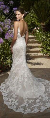 wedding photo - Beautiful Lace Wedding Dress