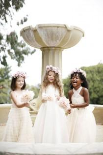 wedding photo - Adorable Flower Girl Dresses