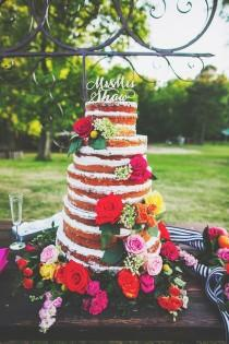 wedding photo - Colorful Southern Wedding With Whimsy