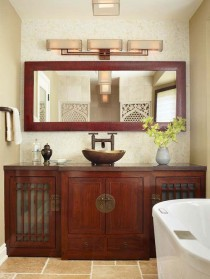 wedding photo - Creative Bathroom Cabinet Ideas