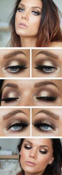 wedding photo - 10 Bronze Makeup Tutorials For Girls