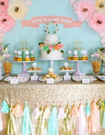 wedding photo - 100 Amazing Wedding Dessert Tables & Displays