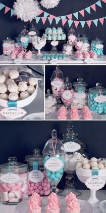 wedding photo - Pink Candy / Dessert Tables