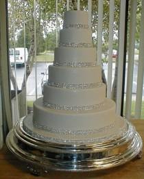 wedding photo - A&B Wedding Cake