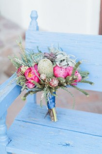wedding photo - Colorful DIY Arizona Wedding