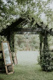 wedding photo - Beautiful Rustic Wedding