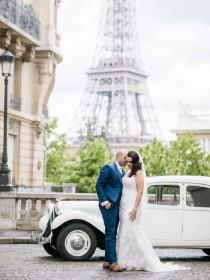 wedding photo - Classic Paris Style Destination Wedding - French Wedding Style
